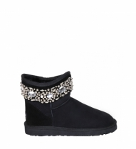 UGG & Jimmy Choo Crystal Black