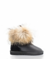 mini FOX FUR Black Metal