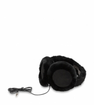 Classic Wired Earmuff Black