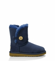 Kid's Bailey Button Navy