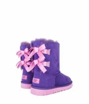 Kid's Bailey Bow Purple Violet